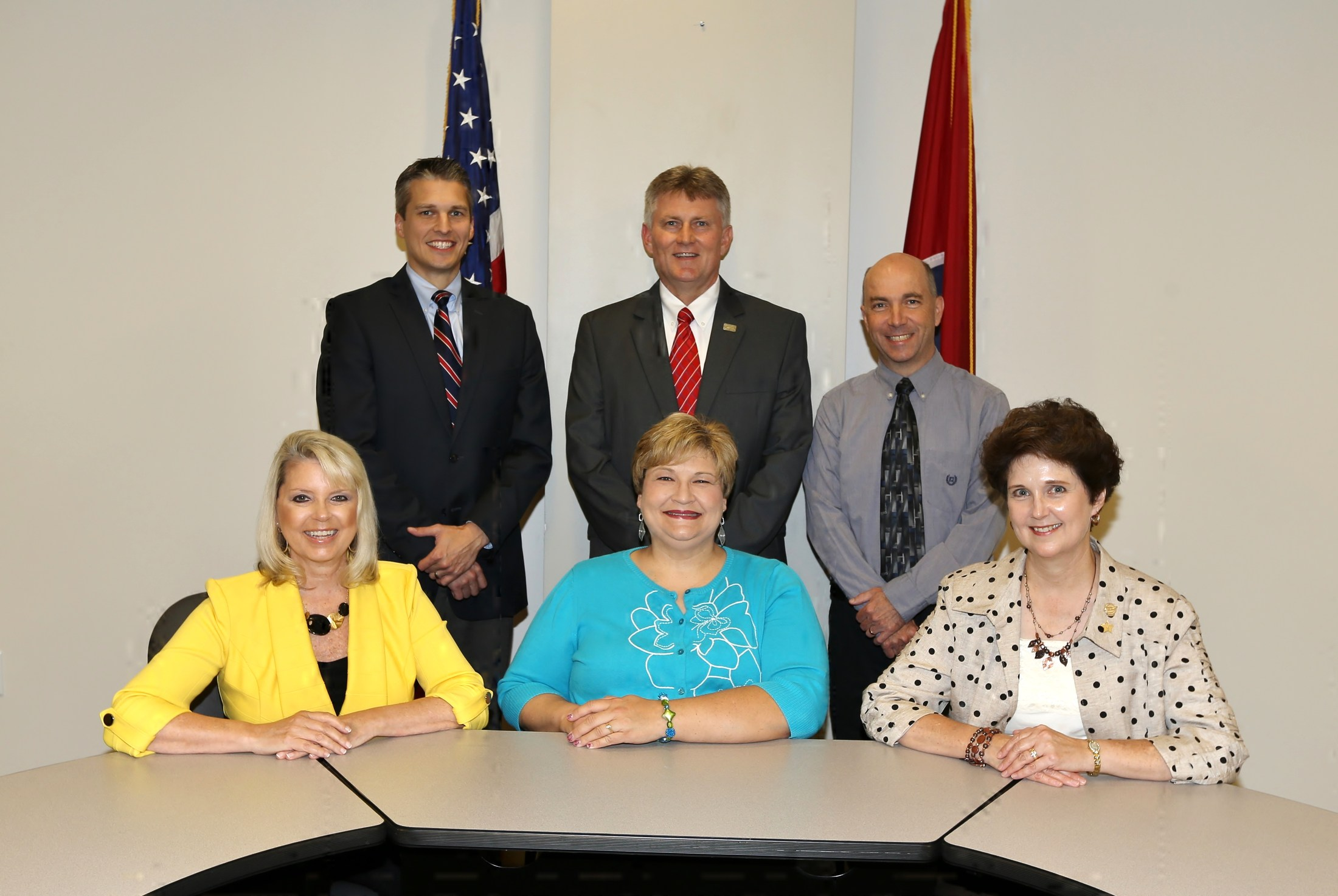 Board of Education Members group photo