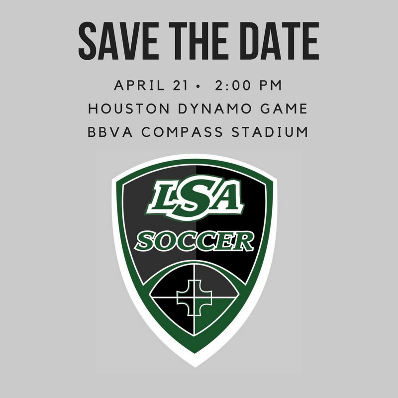 Join the LSA Soccer Team at the Houston Dynamo Game Thumbnail Image