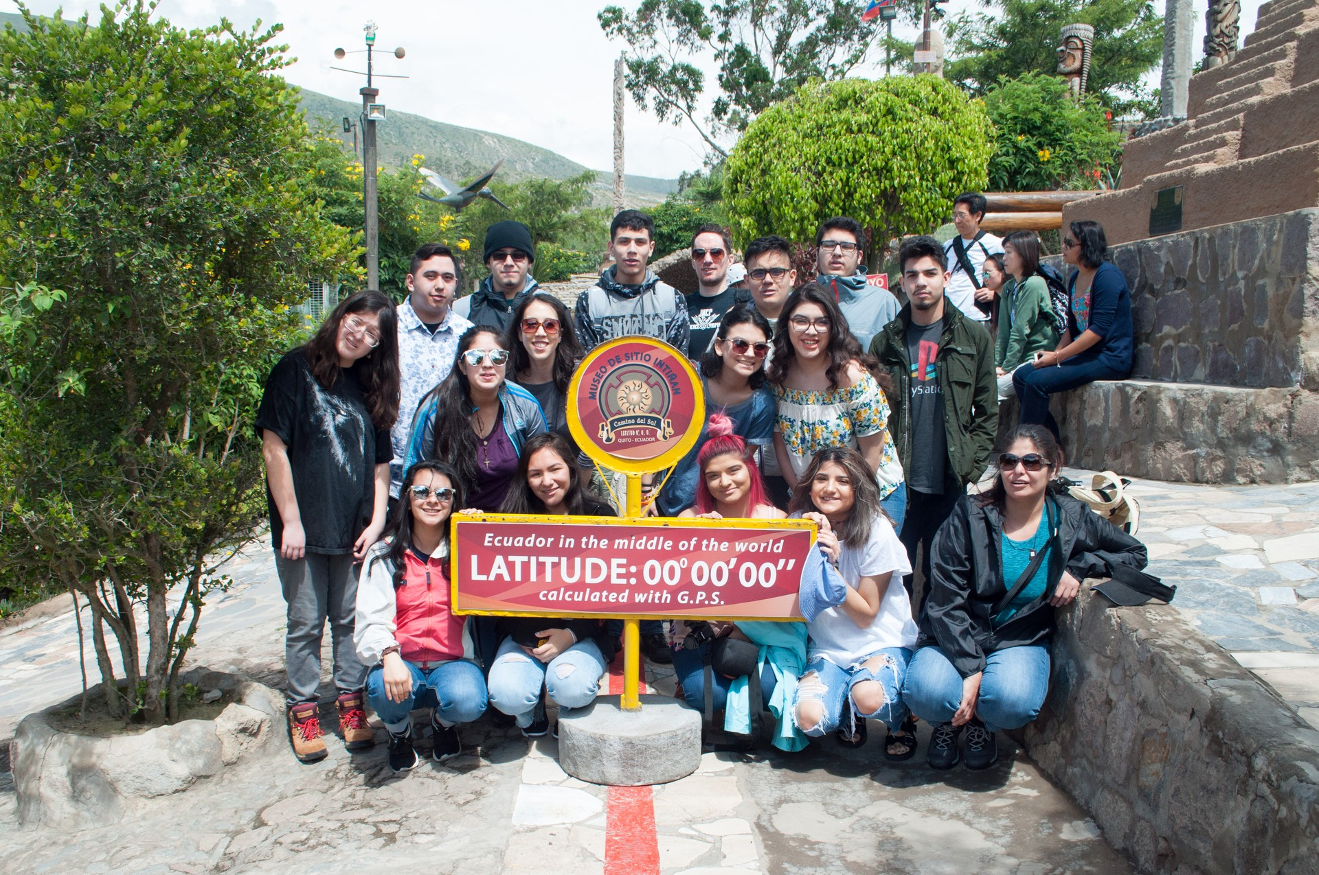 At the Equator!