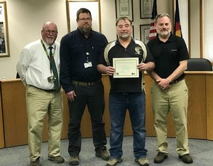 Duff Seaney Acknowledged for 30 Years of Service