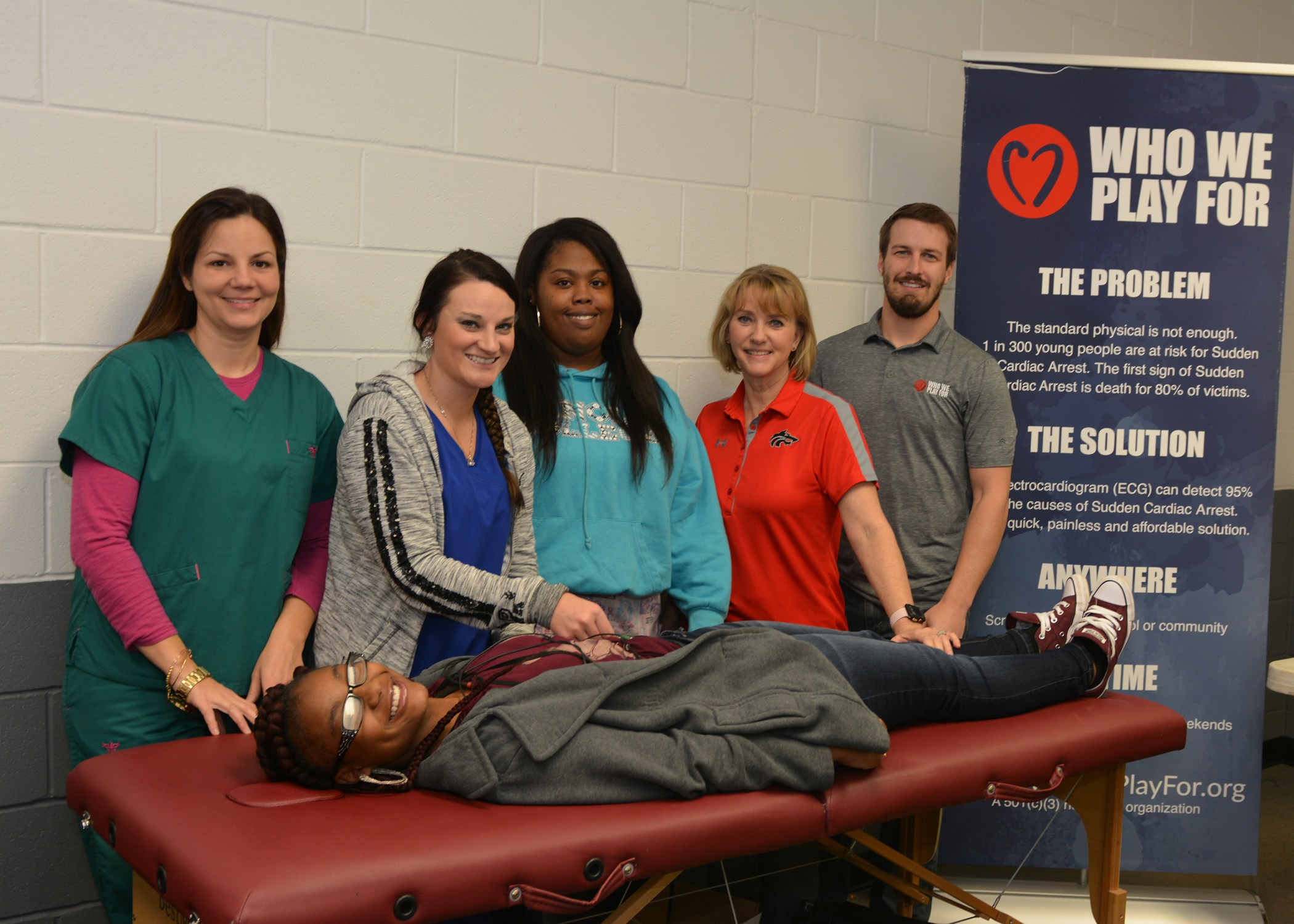 ECG screenings paid for by the Cody Stephens Foundation