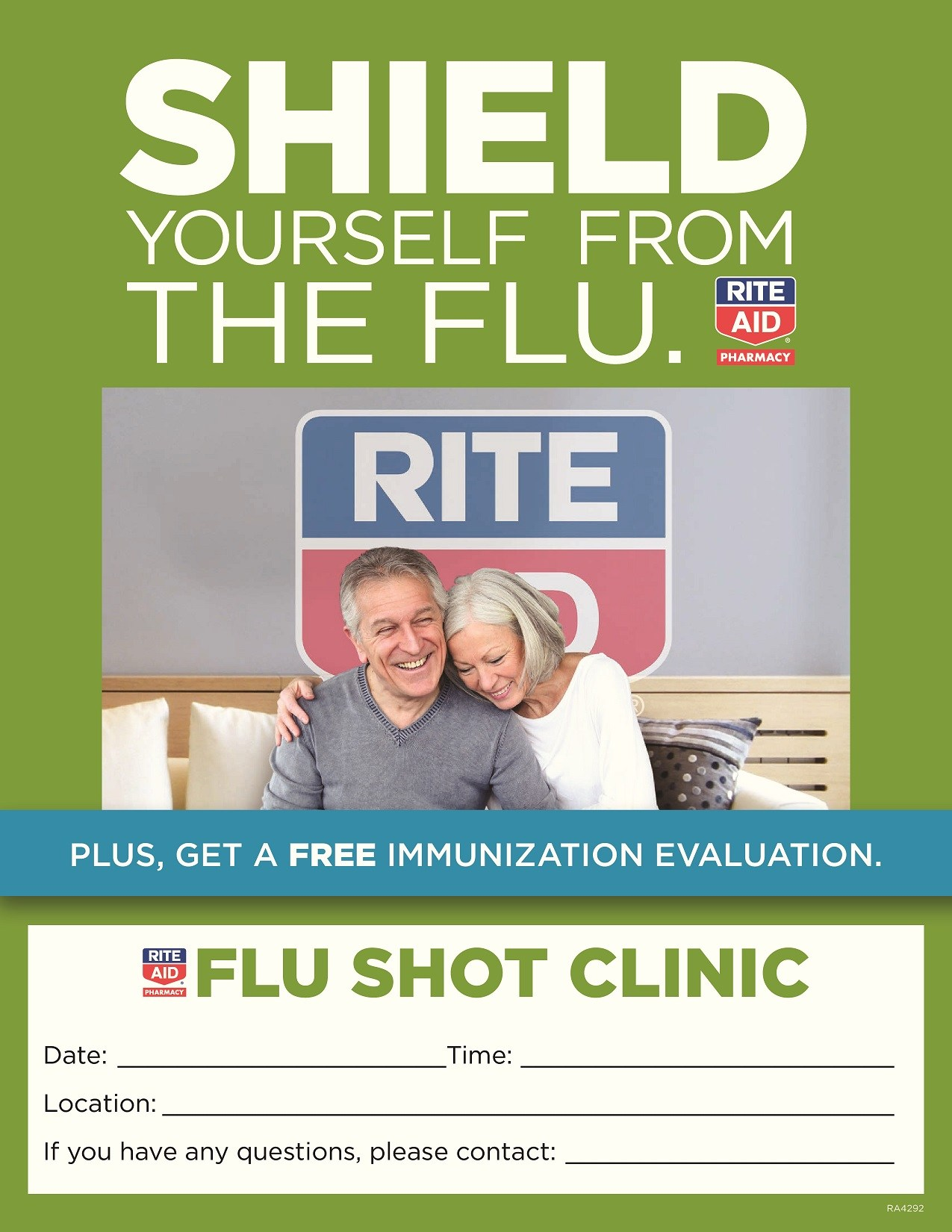 Flu Vaccine Flyers Free: Detroit Service Learning Academy
