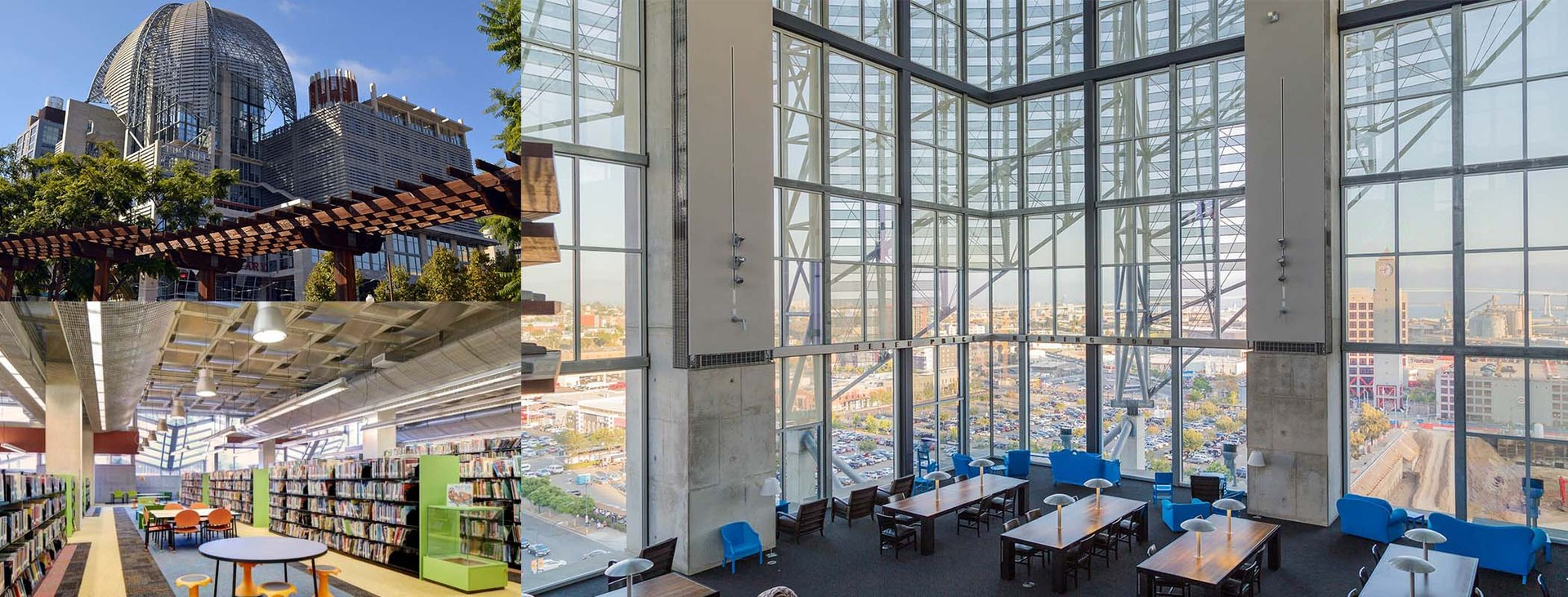 San Diego Central Public Library – Library – E3 Civic High ...
