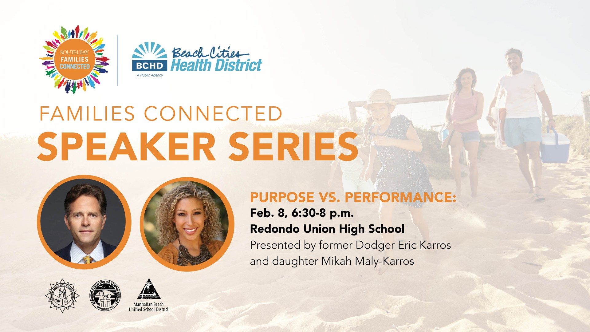 South Bay Connected Speaker Series February 8, 2018
