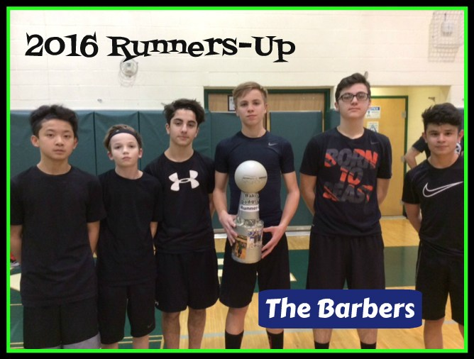 2016 Runners Up