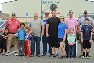 families at all pro dads event