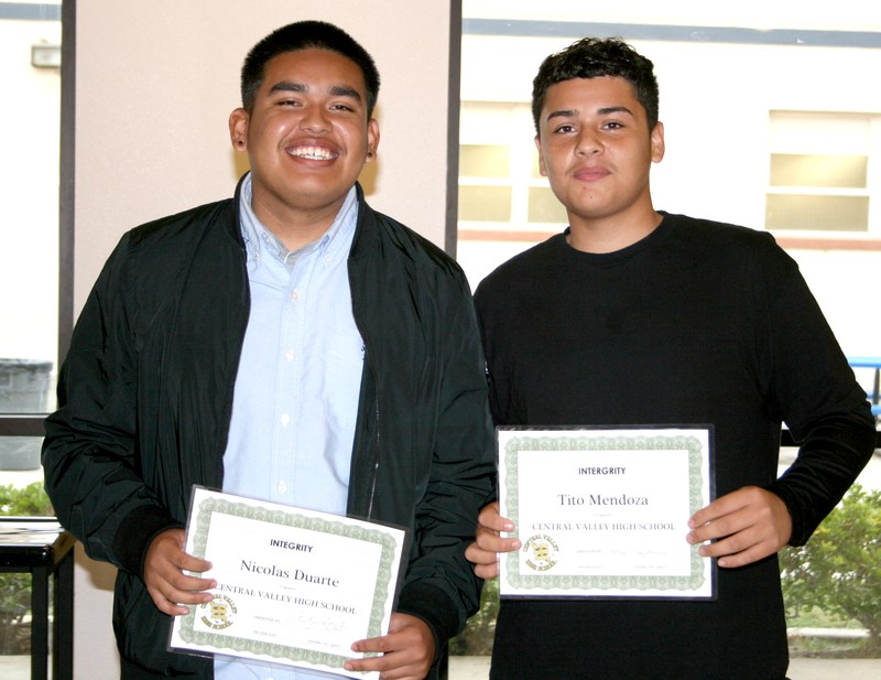 Central Valley Academic Achievement Awards Thumbnail Image