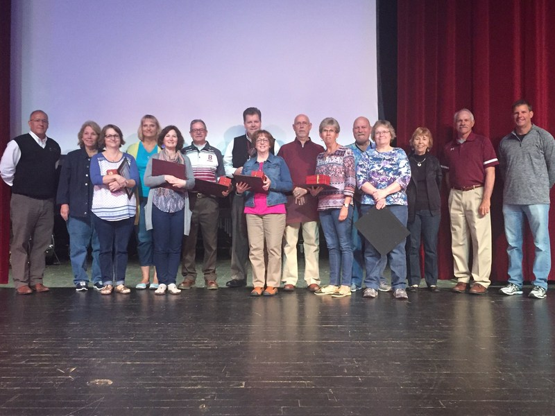 Honoring our Retirees for the 2016-17 Year Thumbnail Image