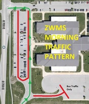 ZWMS Morning Traffic Pattern