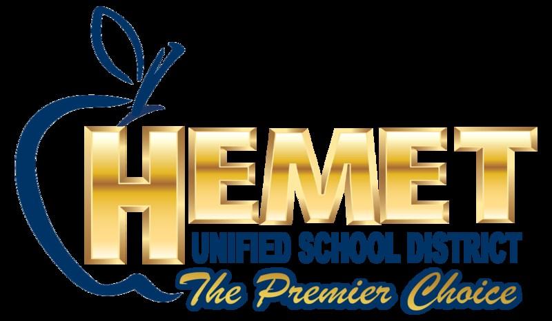 Hemet Unified's logo