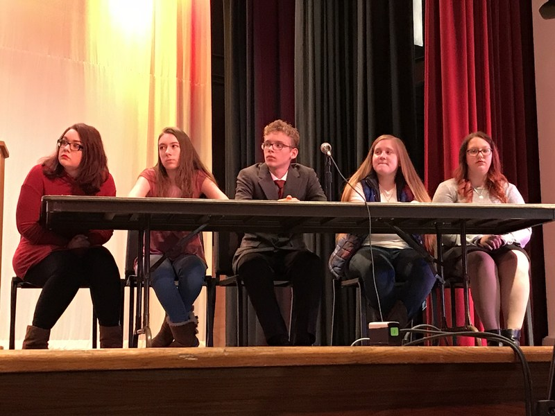 High School Hosts Debate Competition Thumbnail Image