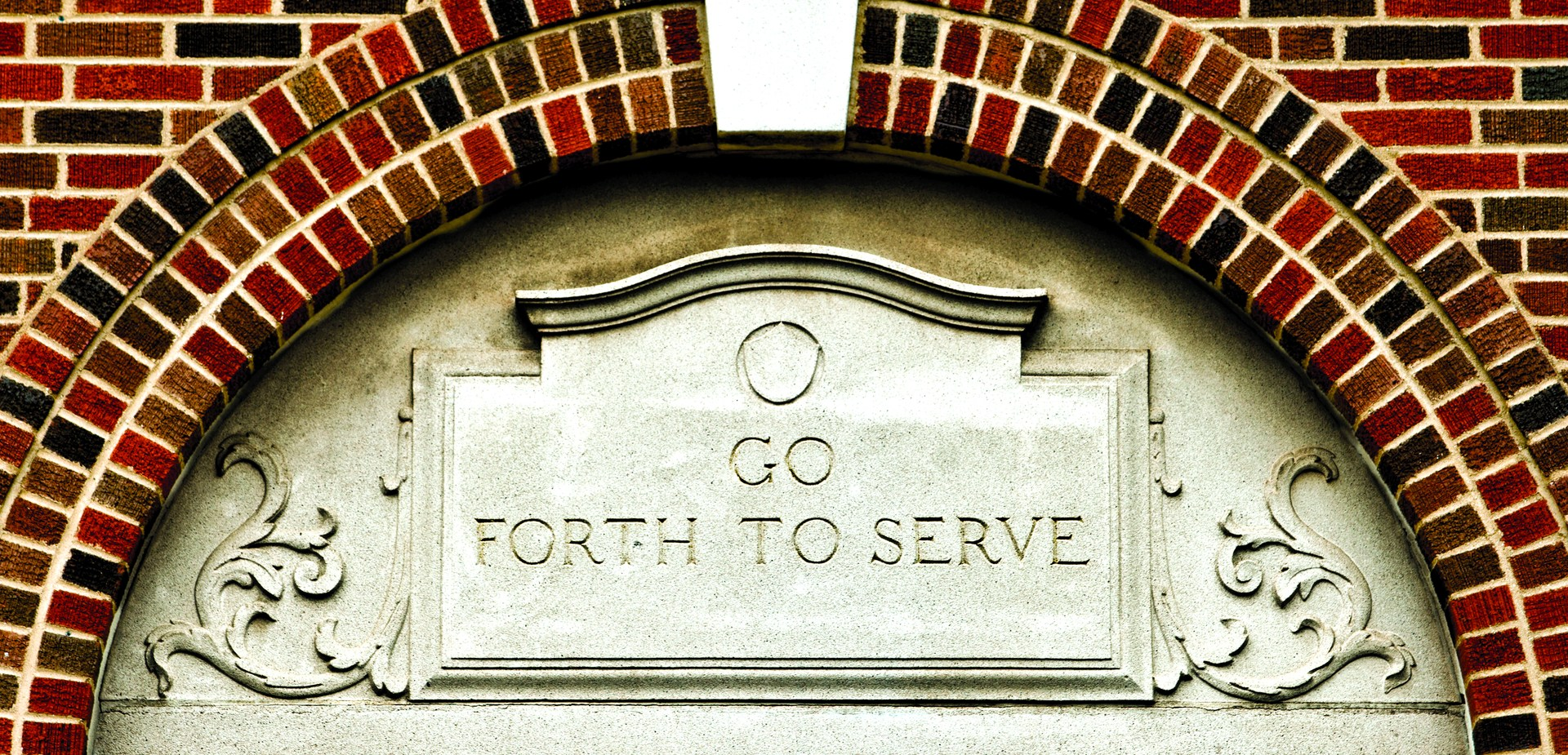 Enter to Learn Go Forth to Serve