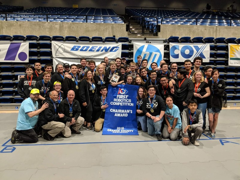 Robotics team headed to World Championships! Featured Photo