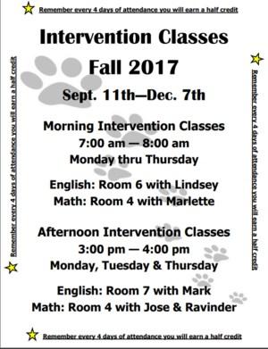 Fall Intervention Flyer