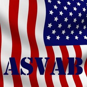 ASVAB with flag