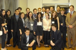 Academic Decathlon_most of team with Mr Strouse_best picture__Feb 4 2012.jpg