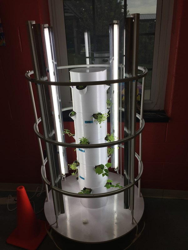 Our 1st Tower Garden