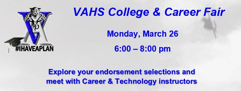 VAHS College and Career Fair Thumbnail Image