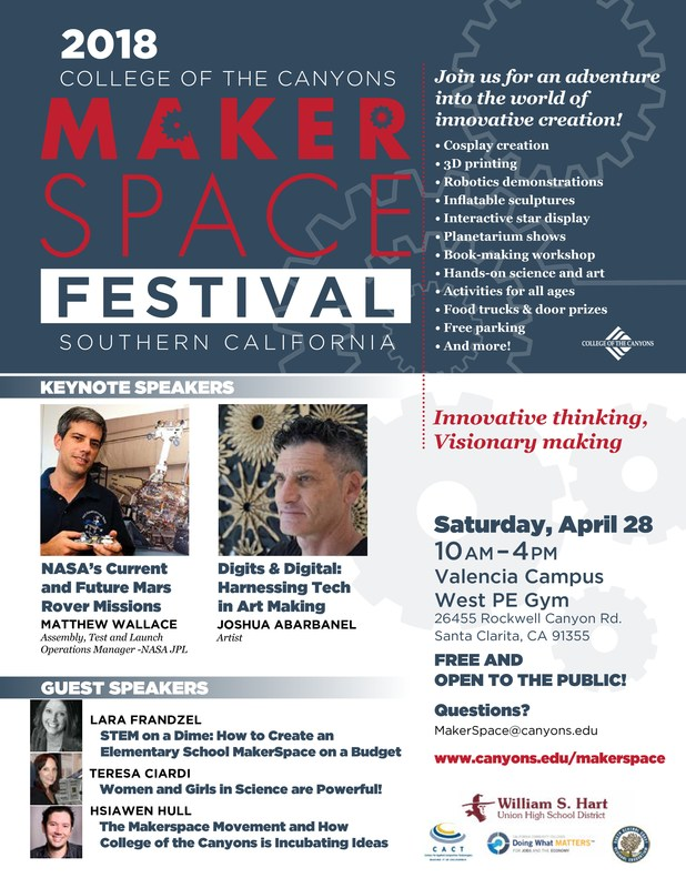 MakerSpace Festival Hart District