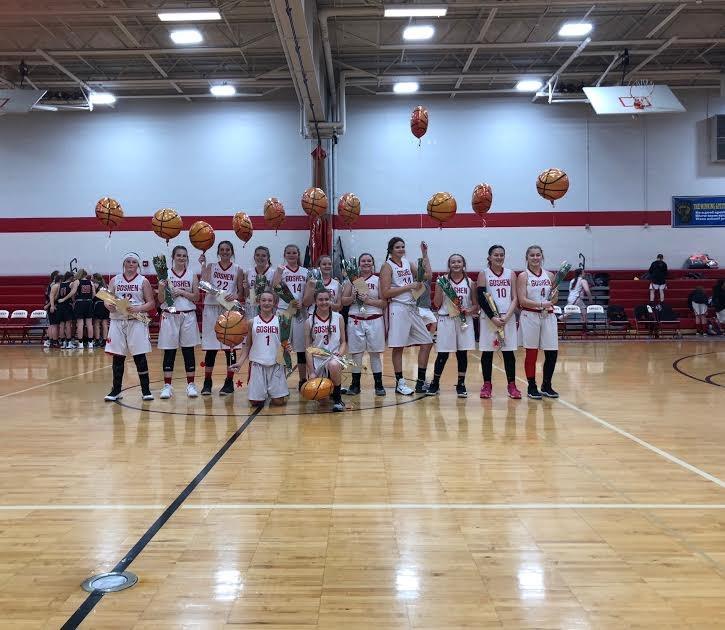 8th grade girls final home game