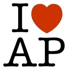 Image showing 'I heart AP'