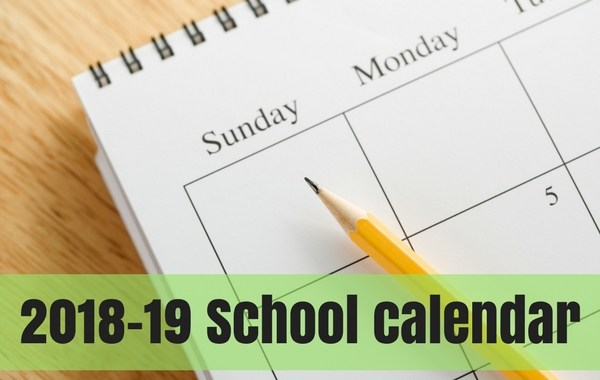 2018-19 At-A-Glance Calendar Thumbnail Image