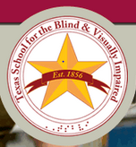 Picture of the Texas School for the Blind and Visually Impaired (TSBVI) Logo