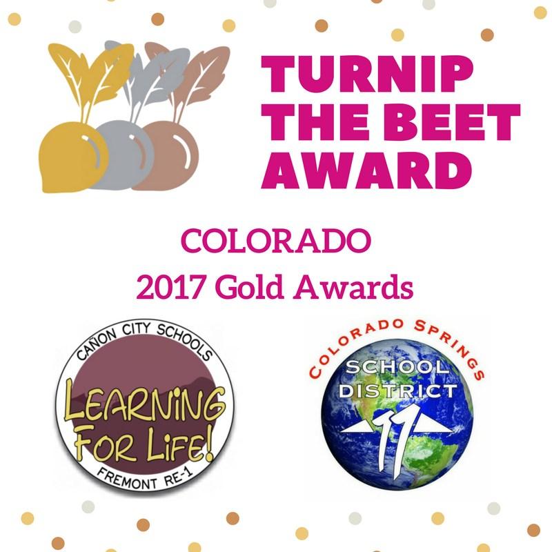 Turnip The Beet Award - Colorado 2017 Gold Awards Thumbnail Image