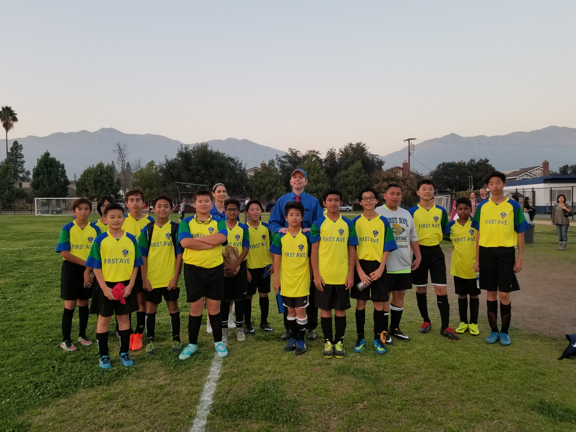 Boys Soccer 2018
