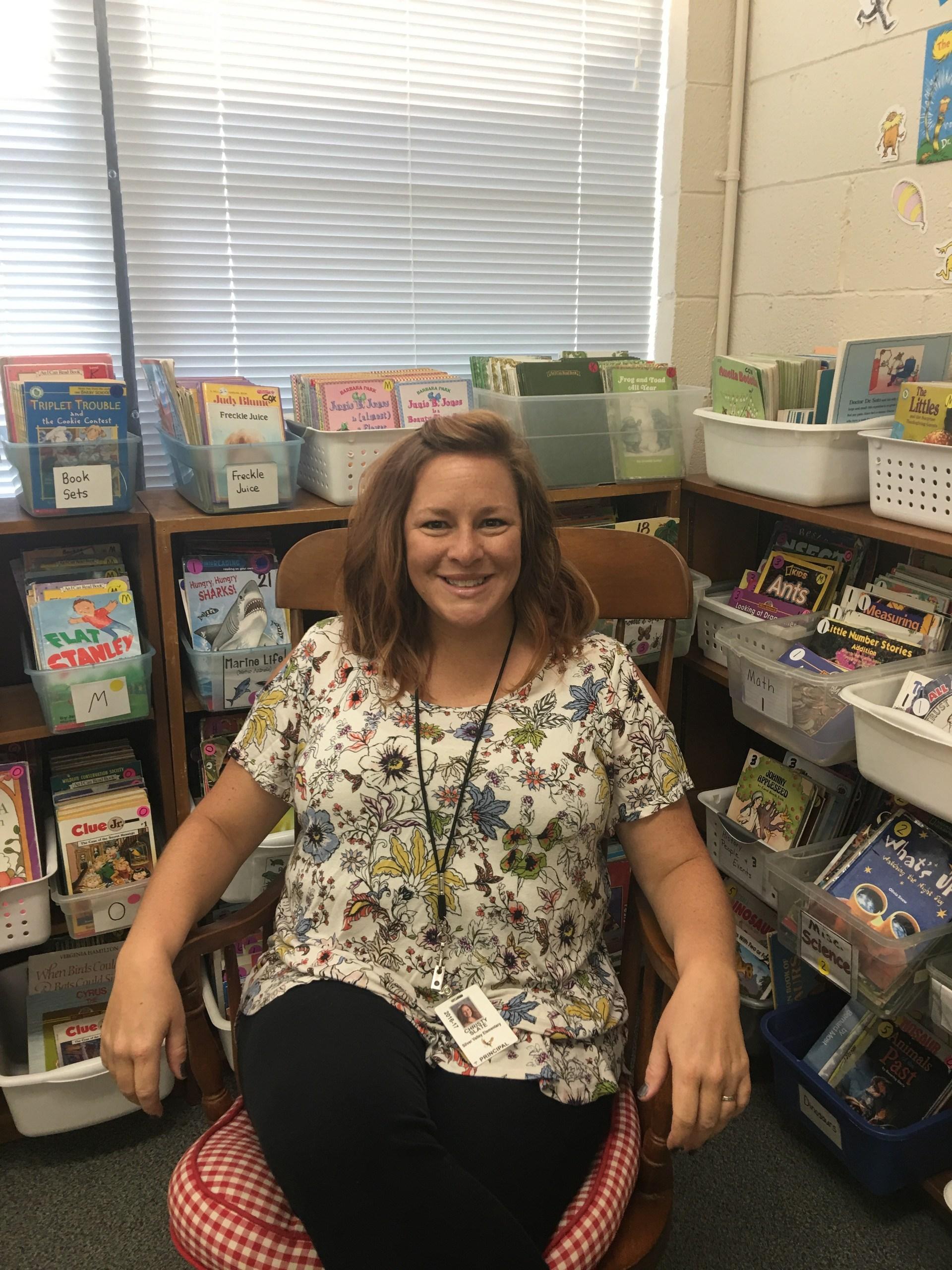 Christy Slate, Principal