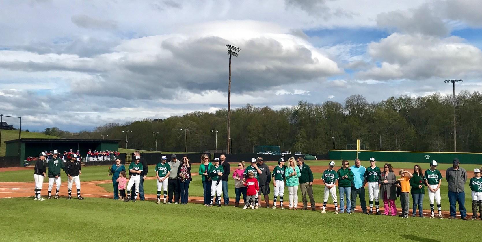 2017-2018 GMS Baseball (Parent Night)