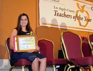 Raquel Viramontes, a nine-year science teacher at Baldwin Park High School, was named one of 16 Los Angeles County Teachers of the Year on Sept. 29 by the Los Angeles County Office of Education in recognition of her dedication and passion to her students and profession.