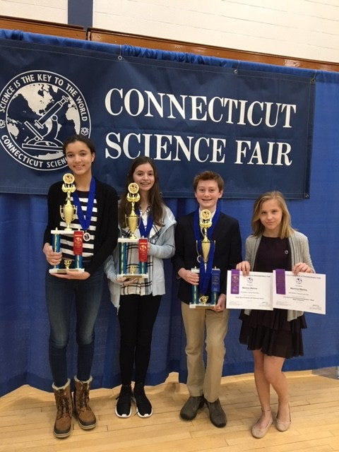 GCS STUDENTS WIN TOP AWARDS AT CT STATE SCIENCE AND ENGINEERING FAIR Thumbnail Image