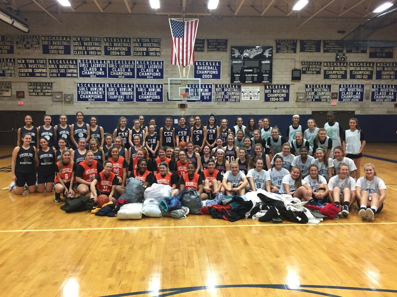 Girls Basketball Gives Back Featured Photo