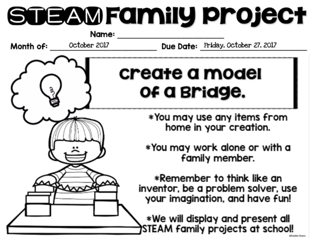 October STEAM Project