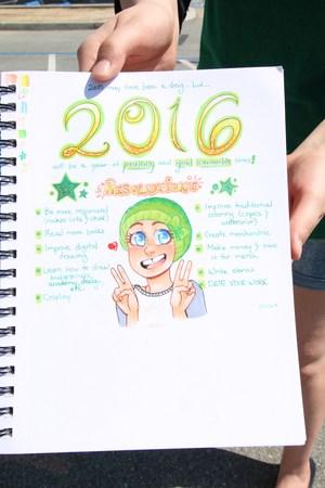 Cassi's goals for 2016