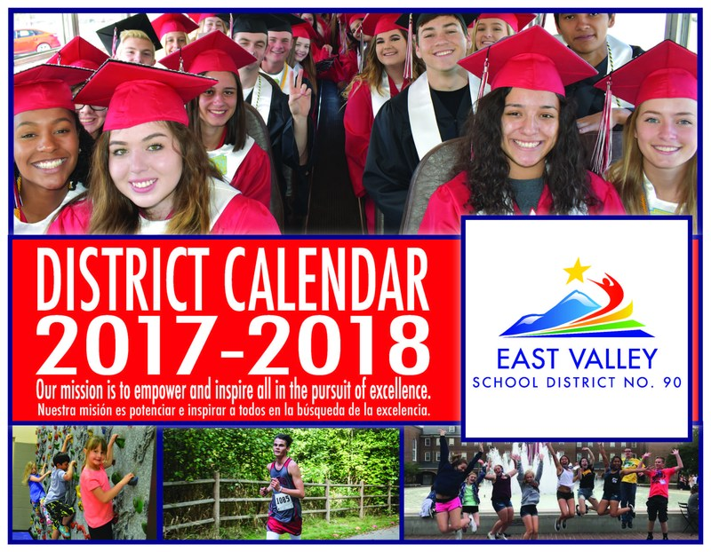 Cover of the 2017-2018 District Calendar