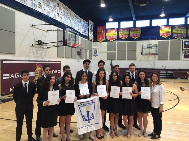 National Honor Society 2017 Induction Ceremony Featured Photo