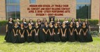 Mission High School JV Treble Choir at the UIL Concert and Sight-Reading Contest at UTRGV.