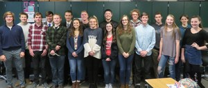 Thornapple Kellogg High School BPA students competed at the regional contest recently.