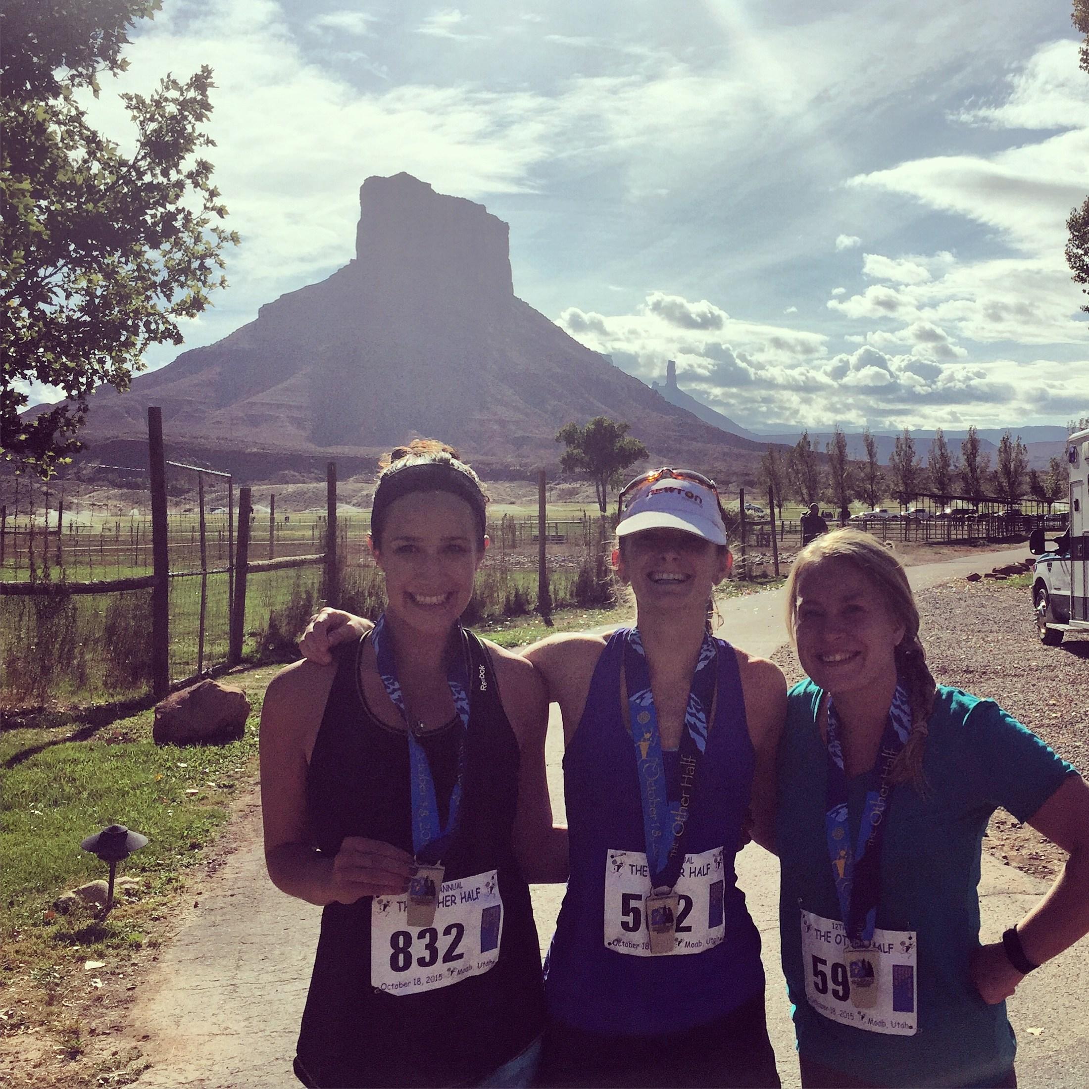 1/2 Marathon in Moab