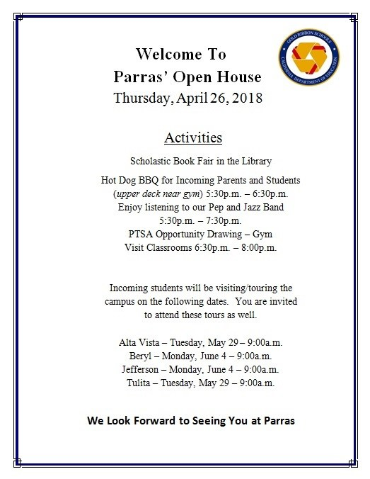 Parras Open House 2018 Featured Photo