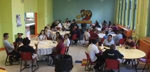 students bfast.JPG
