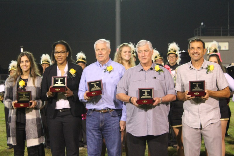 Five Alumni Inducted into Athletic Hall of Fame Thumbnail Image
