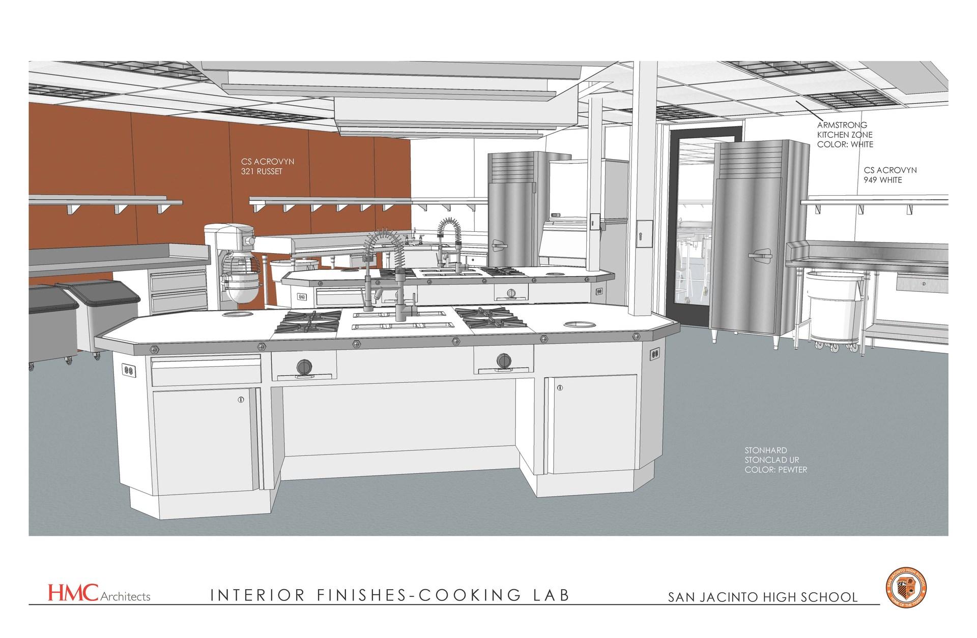 Culinary Art Facility Conceptual Drawing