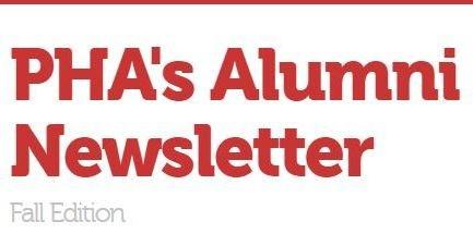 PHA's Alumni Newsletter