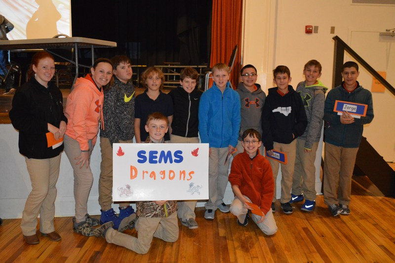 SEMS Quiz Bowl Team wins second place at county tournament Thumbnail Image