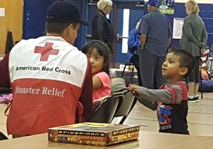 Connor Sidman At Red Cross Facility 1.jpg