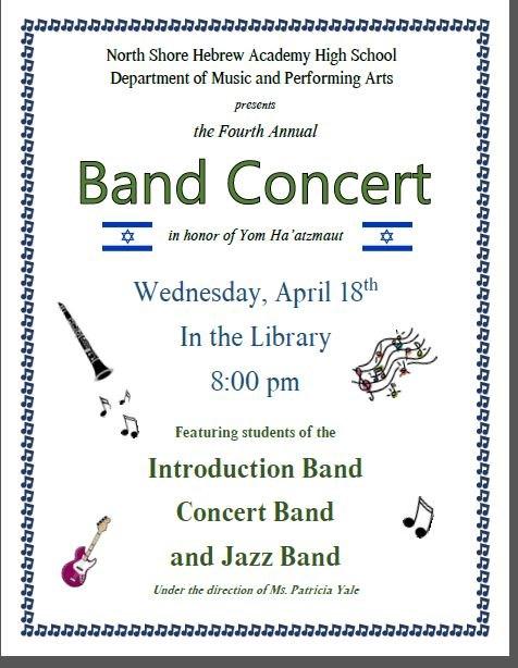 North Shore HS Band Concert! Thumbnail Image