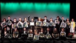 Coloma Band Seniors 2017